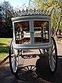 Horse drawn white hearse City of London Cemetery 4 lighter.jpg