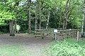 Horse gate into Sheet's Heath - geograph.org.uk - 1294606.jpg