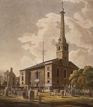 1733 in architecture - St John Horsleydown, London