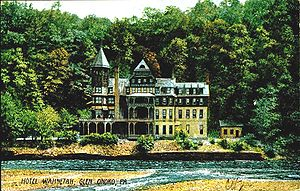 Lehigh Gorge State Park - From a 1907 postcard