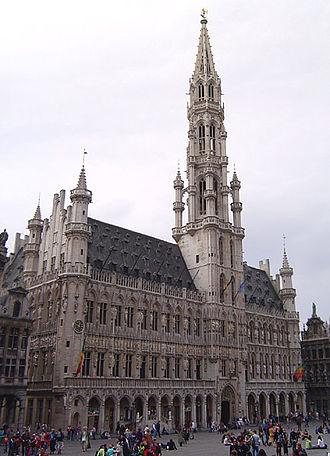 Jacob van Thienen - The Hotel de Ville, Brussels