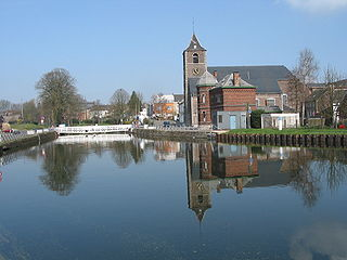 La Louvière Municipality in French Community, Belgium