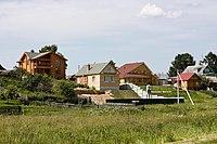 Houses in village Naleskino, Nizhny Novgorod Oblast.jpg