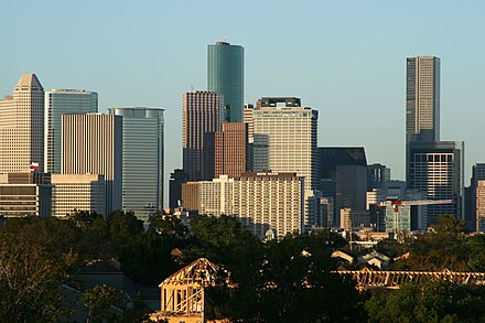 1 - Houston, largest city in the state HoustonSkyline.jpg