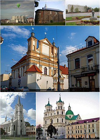 Grodno - Image: Hrodna Montage (2017)