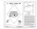 Hubbell Trading Post, Ganado, Apache County, AZ HABS ARIZ,1-GANA,1- (sheet 1 of 7).png