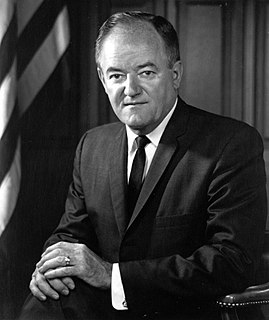 Hubert Humphrey 38th Vice President of the United States