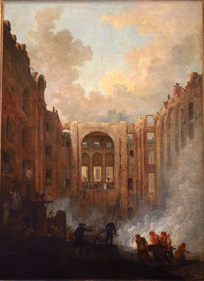 The End of the Fire of the Opéra, Second Room of Palais-Royal, 8 June 1781