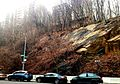 Hudson Heights bluff at Bennett and 192nd looking south 1.jpg