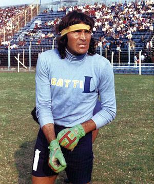 Hugo Gatti - Gatti while playing for Boca Juniors.