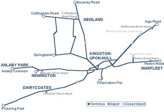 Trams in Kingston upon Hull