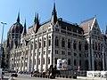 Hungarian Parliament, northeast part, 2013 Budapest (386) (13227600533).jpg