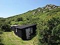 Huts near Ivy Cove - geograph.org.uk - 844102.jpg