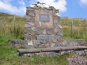 Battle of Mynydd Hyddgen - Memorial to the slain of Mynydd Hyddgen