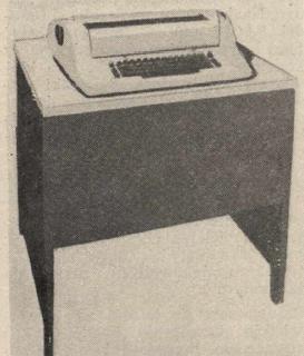 IBM 2741 IBM hardcopy terminal introduced in 1965