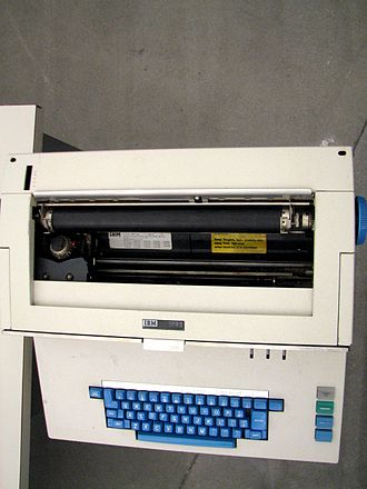IBM 1050 - An IBM 1052 used as the console typewriter on a System/360 model 30.