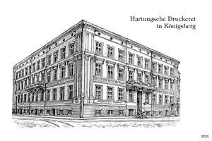 Löbenicht - The publisher Hartung'sche Verlagsdruckerei was based in the former Löbenicht Town Hall from 1876-1906.