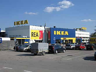 IKEA - The first IKEA store, in Älmhult in Sweden, not far from where the founder was born. In June 2016, it became the IKEA Museum.