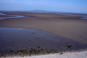 Irish Sea - Dublin Bay on the west coast of Irish Sea