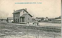 INCONNU - La CHAUSSEE DU BOIS D'ECU - La Gare.JPG
