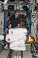 ISS-36 Luca Parmitano works with Robonaut 2.jpg