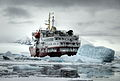 Icebreaker Polar Star somewhere on the Antarctic Peninsula - March 2009.jpg