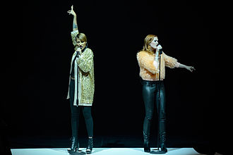 Icona Pop - Icona Pop at Michalsky StyleNite of Berlin Fashion Week, August 2013