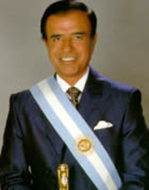 Pact of Olivos - Image: Icono Menem