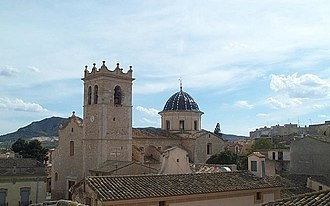 Church of Santa Catalina (Caudete) - Image: Iglesia de Santa Catalina (Caudete)