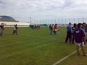 UD Horadada - The Ikomar after a 1-0 win over Elche Ilicitano