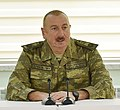 Ilham Aliyev visited military unit of Defense Ministry's Special Forces 18 (cropped).jpg