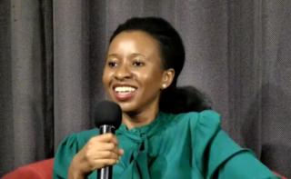 Imbolo Mbue Cameroonian writer