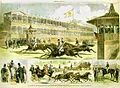 Inauguration of the Race Course of the Jockey Club, Jerome Park - Start for the four-mile heat.jpg