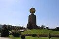 Independence square in Tashkent, Monument.jpg