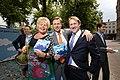 Ineke van Gent, Han ten Broeke en Kees Verhoeven, Lancering Europese Mobiliteitsweek 2010.jpg