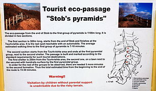 Information board Stob pyramids Language EN with map.jpg