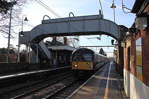 Ingatestone railway station - Image: Ingatestone Greater Anglia 360112
