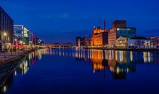 Duisburg City in North Rhine-Westphalia, Germany