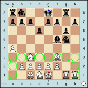X-FEN - Example for needed X-FEN in Chess960