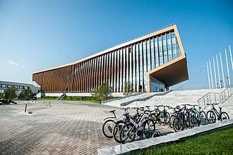 Innopolis - The main building of the University of Innopolis