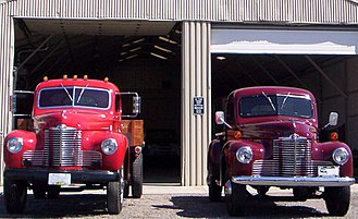 International Harvester K and KB Series - Image: International Harvester Company KB3 and KB5 trucks