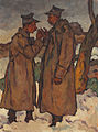 Ion Theodorescu-Sion - Doi camarazi 1917.jpg