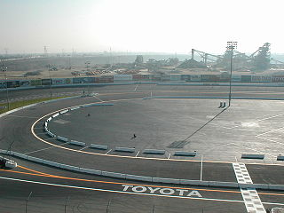 Irwindale Event Center motorsport track in the United States