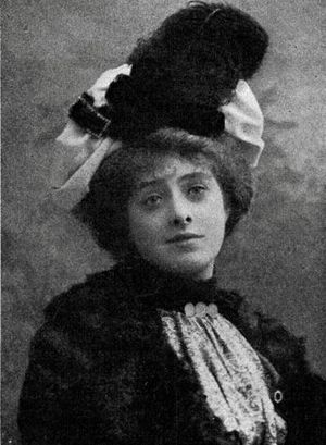 Isabel Jay - 1901 publicity photo for The Emerald Isle