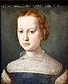 Isabella de Medici (1542-1576), 1552-1553, by Agnolo Bronzino (1503-1572). Nationalmuseum, Stockholm, Sweden.jpg