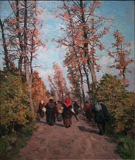 Isidore Verheyden Belgian painter (1846-1905)