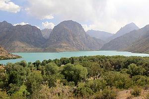 Iskanderkul - Image: Iskander kul, Tajikistan