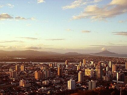 Vista parcial de Itajaí