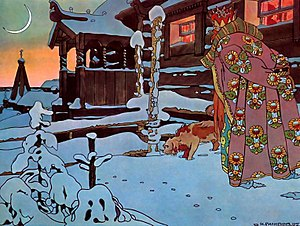 The Tale of Tsar Saltan - Image: Ivan Bilibin 012