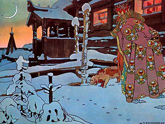 The Tale of Tsar Saltan - Image: Ivan Bilibin 012